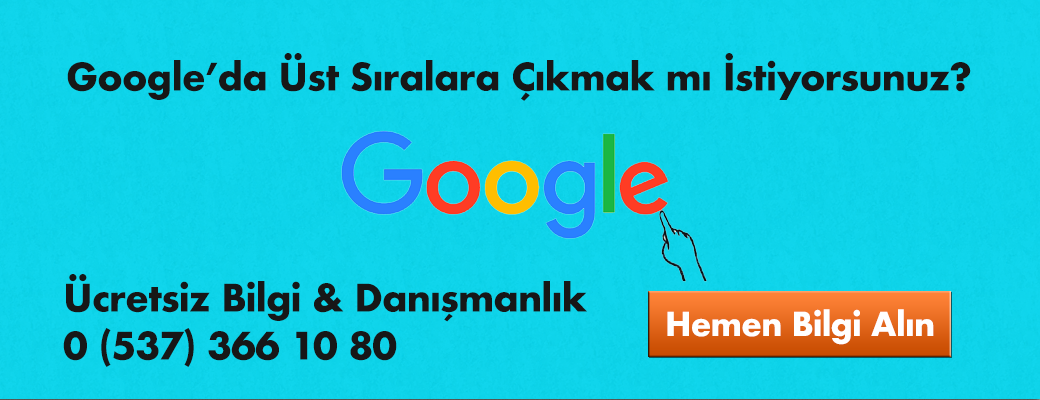 google-ust-siralara-cikmak
